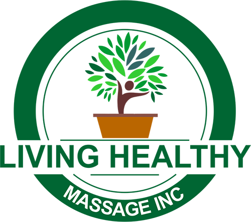 Living Healthy Massage Inc. Logo