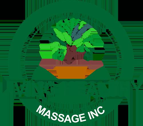 Living Healthy Massage Inc. Logo